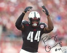 RANDY GREGORY NEBRASKA CORNHUSKERS SIGNED 8X10 PHOTO W/COA