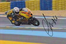 Adrian Martin Moto 3 Hand Signed Honda Photo 5x7 2012 2.
