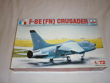An ESCI un made plastic kit of a F-8E ( FN ) Crusader,  boxed.