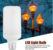 E27 LED Burning Light Flicker Flame Lamp Bulb Fire Effect Decor Gravity Sensor