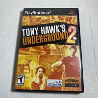 Tony Hawk's Underground 2 PS2 Sony PlayStation 2 Video Game Free Ship