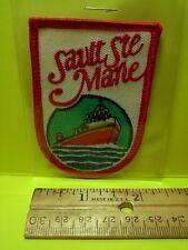 SAULT STE. MARIE VINTAGE PATCH - CANADA  (17A4057)