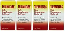 4 Pack Thermotabs Salt Supplement Buffered Tablets 100 ea