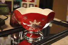NEW! Teleflora Ceramic Christmas Bowl