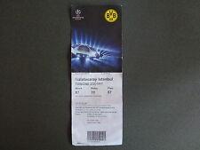 Sammler Ticket Borussia Dortmund - Galatasaray Istanbul  Champions League BvB 09