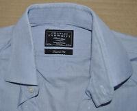 Charles Tyrwhitt light purple cotton shirt size 16 double cuff Jermyn Street