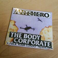 Brand New Anti Hero Skateboards The Body Corporate Skateboarding Dvd Skate Video