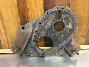 Triumph TR2 TR3 TR3A TR3B • Original Front Engine Plate. Used.   T2135