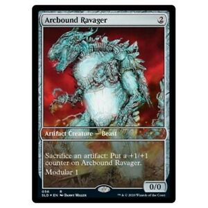 MtG Arcbound Ravager | FOIL | Secret Lair | Rare & OOP | Magic the Gathering