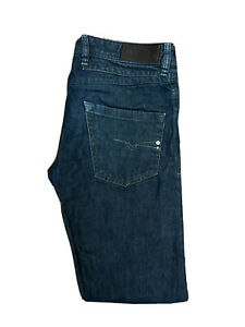 Original Diesel Belther 0088Z Reg Slim Tapered Indigo Denim Jeans W30 L34 ES8259