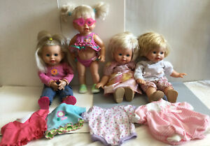 Fisher Price / Mattel Doll Play With Me Mommy 2006 / 2007 Lot Of 4 Dolls + Extra