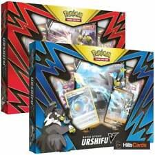 More details for pokemon single strike & rapid strike urshifu v box collection bundle one of each