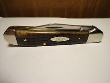 Case XX 6249 Copperhead Bone Handle Folding Knife 9 Dot 1981