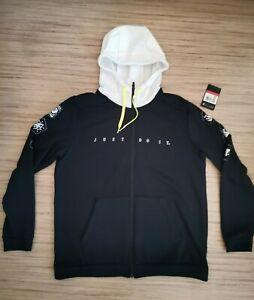 Nike Sweatjacke Training Zip Hoodie / Gr L / NP 59,90 € / schwarz