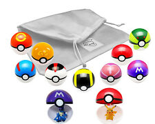 9 pack anime Balls for Pokemon Figures + 9 anime figures by Kool KiDz