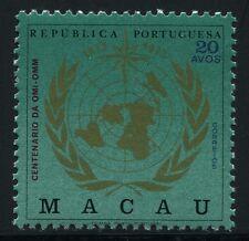 MACAU MACAO 1973 UNO IMO WMO Meteorologie 457 ** MNH