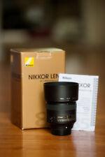 Nikon NIKKOR AF-S 85mm f/1.8G Lens