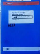 Werkstattbuch Reparaturleitfaden VW New Beetle Radio Telefon Navigation #6837