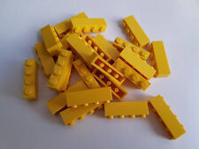 Lego Yellow Brick 1x4, Part 3010, Element 301024, Qty:25 - New