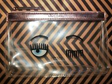 NEW Lancome x Chiara Ferragni Limited Edition Clear Makeup Bag With Cold Booster