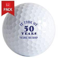 1 Dozen (50th birthday gag gift Logo) Brand New Titleist Nxt Tour S Golf Balls