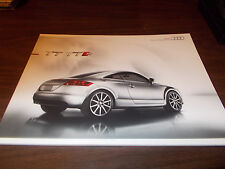 2010 Audi TT/ TTS 46-Page Deluxe Sales Catalog