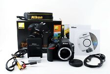 """""""Excellent in Box"""" Nikon D D5500 24.2MP Digital SLR Camera Body w/Charger,Battly"""