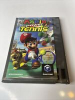 Mario Power Tennisnintendo gamecube tested working Manual And Game