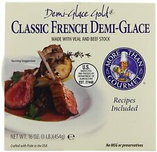 More Than Gourmet Gold French Demi-Glace, 16 Oz Tub