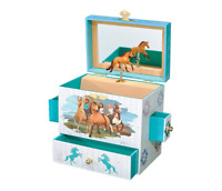 Breyer Spirit Riding Free - Spirit and Lucky Musical Horse Jewelry Box