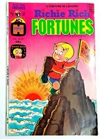 Vintage 1975 RICHIE RICH FORTUNES  #20 comic book Harvey Comics  pre-owned