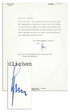 Albert Speer Typed Letter Signed 1971