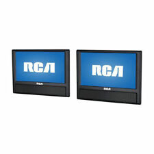 "NEW RCA 9"" Dual Screen Mobile DVD Player LCD TV Screen Car Video Portable A"