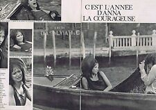 COUPURE DE PRESSE CLIPPING 1967 ANNA KARINA (4 pages)