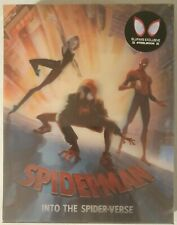 Blufans Spider-Man: Into the Spider-Verse 4K+3D+2D Steelbook Blu-Ray NEW&SEALED!