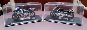 2 Moto GP Honda NRS 250 & 500 1/24 model Motorcycle Deagostini