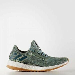 NEW Womens adidas PureBOOST X ATR Size 9 Green/White Running Shoes