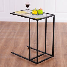 Table Basse Table d'appoint en Verre Table de Chevet Table de Salon