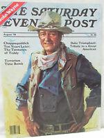 The Saturday Evening Post Magazine August 1979 John Wayne Duke Tribute