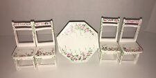 Dollhouse Eye Candy Table  Dining Room Furniture Miniature Set First Glance New