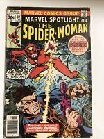 Marvel Spotlight #32 (1977) 1st app. Spider-Woman Heavy Wear Detached Cover Pics
