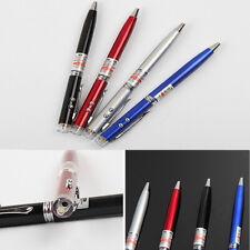 3 in 1 Red Laser Pointer + Ballpoint Pen + LED Flashlight Black Lamp Universal