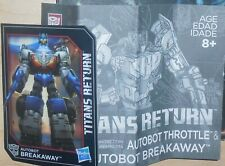 Transformers Titans Return BREAKAWAY Manual Bio Card