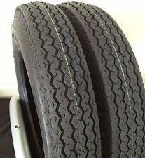 New Set of 2 Deestone Trailer Tires 4.80X12  6ly