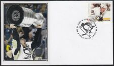 CANADA # 2942.11 SID CROSBY HOCKEY STAMP on FIRST DAY COVER