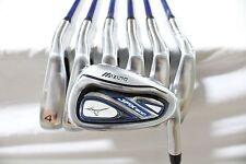 Mizuno JPX-800 4-PW Iron Set Project X 4.5 Seniors flex Graphite Irons Used RH