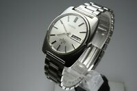 Vintage 1970 JAPAN SEIKO LORD MATIC WEEKDATER 5606-8010 23Jewels Automatic.