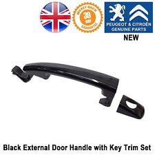 Peugeot Partner Tepee (B9) Door Handle External Black Key Hole 9101GF Genuine
