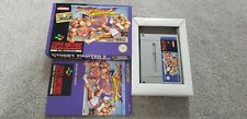 Street Fighter 2 Turbo Super Nintendo SNES Boxed With Manual