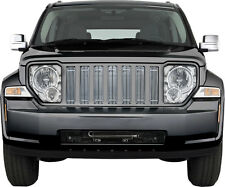 FITS JEEP LIBERTY 2008-2012 CHROME BILLET GRILLE INSERTS OVERLAY 7PCS